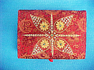 Jewelry Box - Hand Embroidered - India