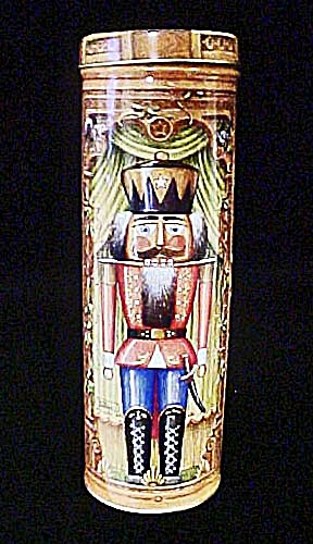 Nutcracker Fantasy Tin Container