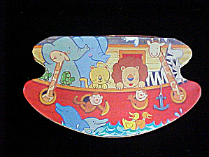 Noah's Ark Tin Container
