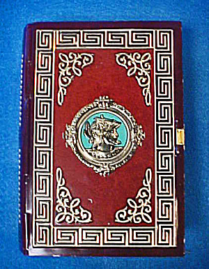 Roman Design Tin Book Container