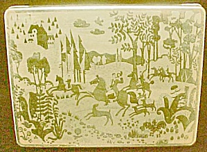 Hunting Scene - German Hinged Tin
