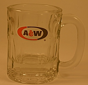 Medium-sized A & W Root Beer Mug