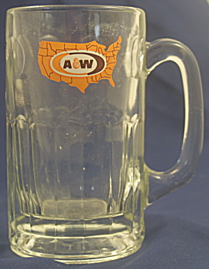 Large A & W Root Beer Mug