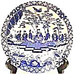 Oriental Blue Transfer Bowl - Unmarked
