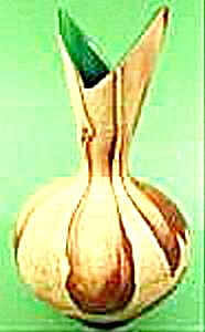 Bud Vase - Niloak - Sand With Brown