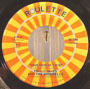 Tommy James And The Shondells - 1968 - 45rpm Recording