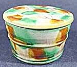 Oriental Covered Bowl - Hand Painted - Japan - Vintage