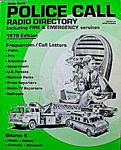 Police Call Radio Directory - 1979 - Hollins