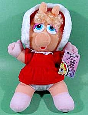 Baby Miss Piggy Plush Doll - Mint With Tags