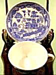 Blue Willow Oriental Miniature Cup And Saucer - Japan