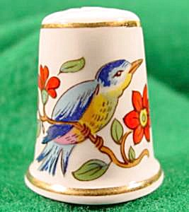 Bird Thimble - Aynsley Bone China - England