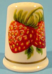 Strawberries Thimble - Vale Fine China - Wales