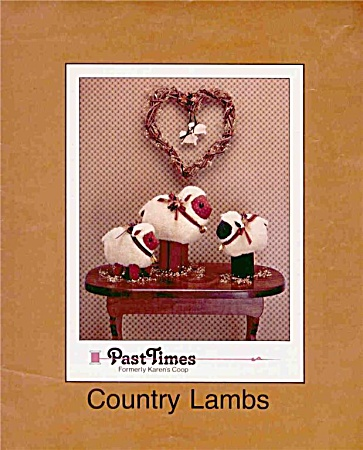 Country Lambs - Pattern - Directions - Uncut