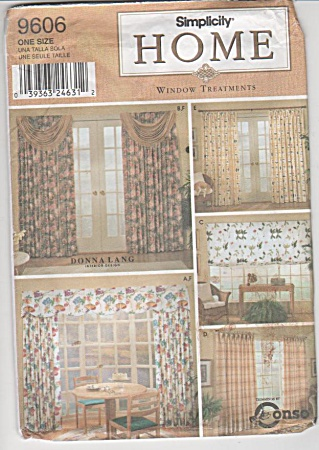 Drapes - Swag - Shades - Valance - Home - S9606