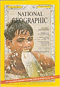 National Geographic - April 1968