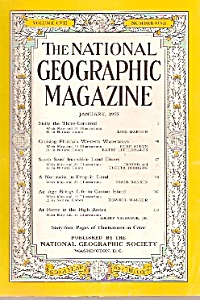 National Geographic Magazine- January 1955