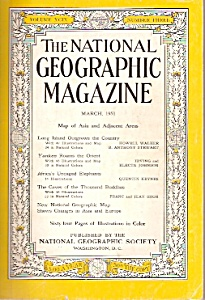 The National Geographic Magazine- March 1951