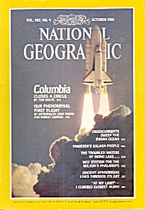 National Geographic Magazine - October 1981