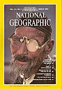 National Geographic Magazine - March 1980