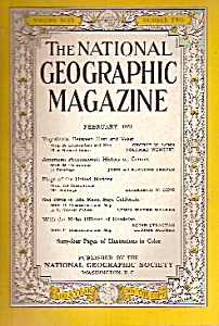 National Geographic Magazine - February 1951