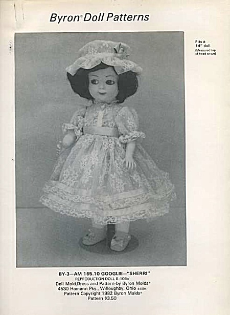 Bryon - Dress For 14 In Doll - Uncut`oop