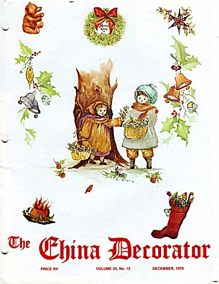 Vintage - China Decorator - December - 1979