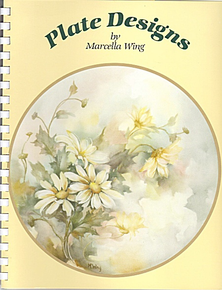 Marcella Wing - Plate Designs - Vintage