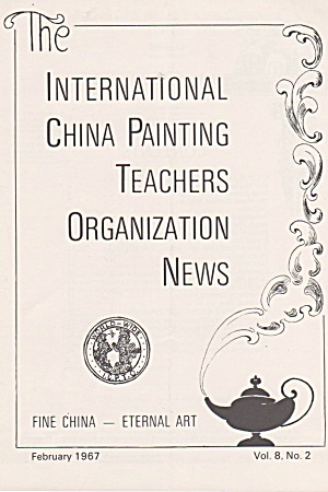 Ipat - February - 1967 - Oop - Icpto - China Painting