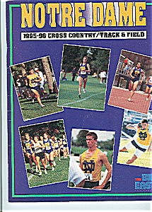 Notre Dame 1995-96 Cross Country - Track & Field
