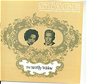 Stage Play Program -fisher Theature - 1964 The Merry Wi