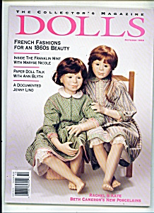 Dolls, Collector's Magazine - October 1993