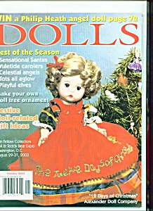 Dolls Magazine - Holiday 2003