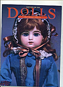 Dolls, The Collector's Magazine - March/april 1987