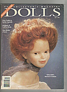 Dolls, The Collector's Magazine- July 1995