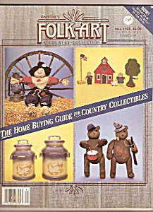 Folk Art Country Collectionj Magazine - Fall 1988