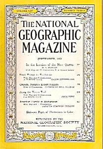 The National Geograpic Magazine - Septl. 1953