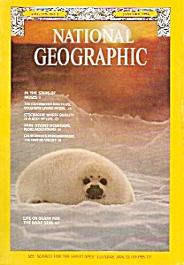 National Geographic Magazine- January 1976
