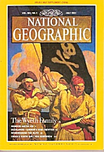 National Geographic -july 1995