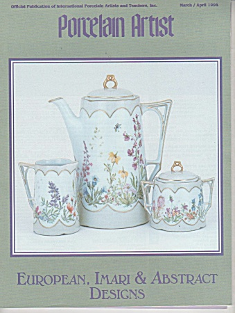 March - April - 1994 - Porcelain Artist