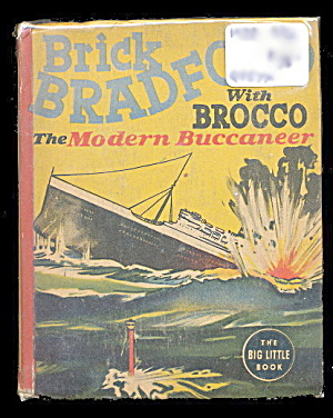 1938 Brick Bradford W Brocco Whitman Big Little Book