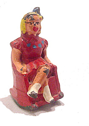 (B627) Barclay 627 Girl In Rocking Chair