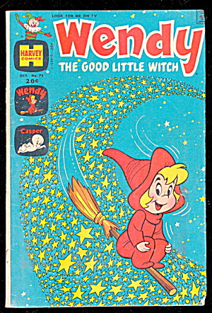 Wendy The Good Little Witch Oct 1972 Comic Book