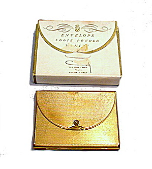1920s Coty With Box Art Deco Compact