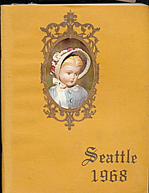 1968 Seattle Pacific Northwest Doll Club Program