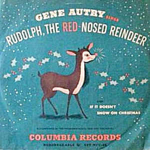 1949 Gene Autry's Rudolph The Red Nosed Reindeer Record
