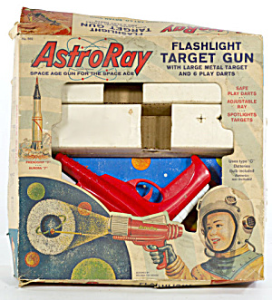 1940s-1950s Astroray Target Gun In Original Box