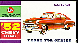 1952 Pyro 52 Chevy Fas-back Model Kit