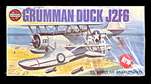 1979 Airfix Grumman J2f-6 Duck 1/72 Sealed