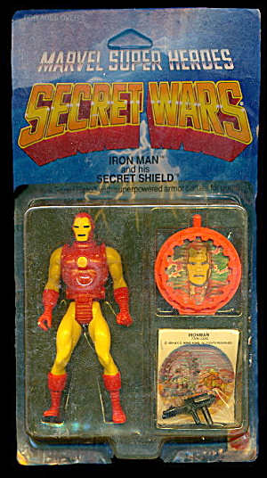 Iron Man W/ Secret Shield - Sealed