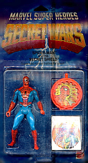 1984 Spider-man W/ Secret Shield - Sealed